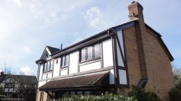 replace mock tudor beams and fascias and soffits
