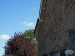 Guttering, white soffit and fascia replacement Otterbourne