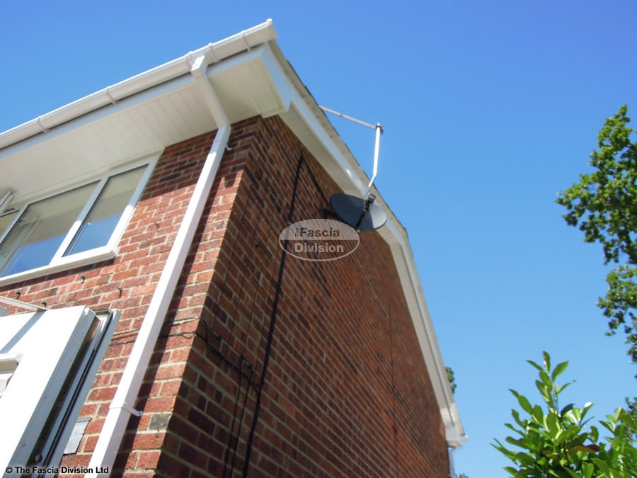Replace fascias and soffits on a detached house in Colden