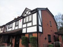 New black tudor board with white render board replacement