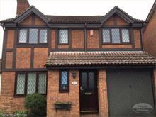 Replace tudor boards with replica wood rosewood tudor boards